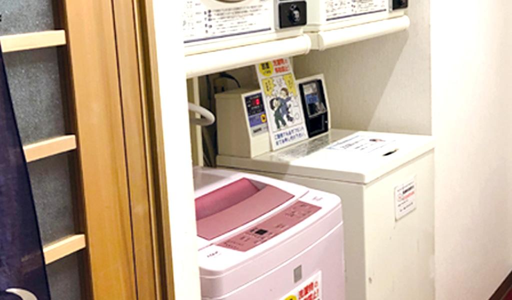 洗濯機・乾燥機あります